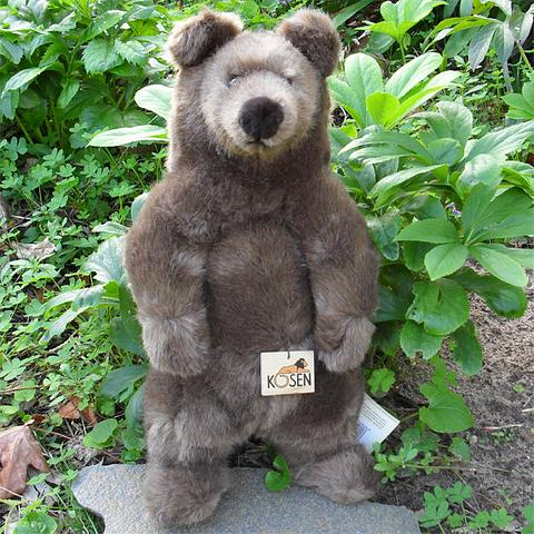 Brown Bear Standing (Med) - Kosen