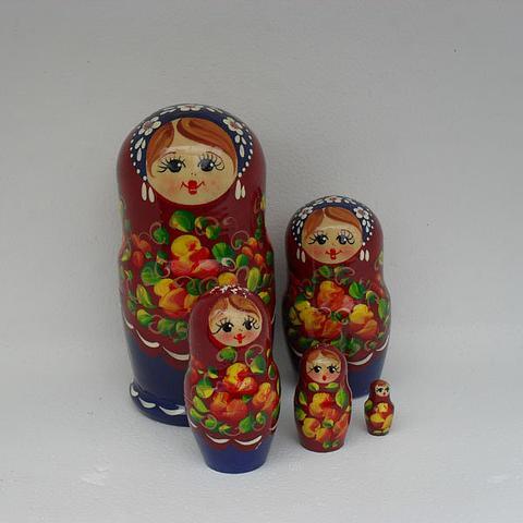 Mat010 - Matryoshka Dolls