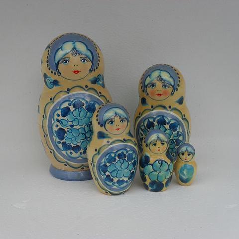 Mat013 - Matryoshka Dolls