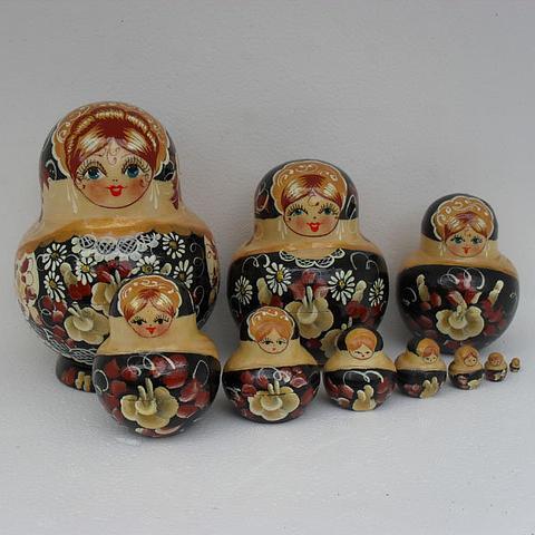 Mat014 - Matryoshka Dolls