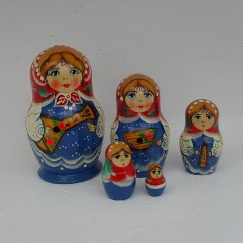 Mat018 - Matryoshka Dolls