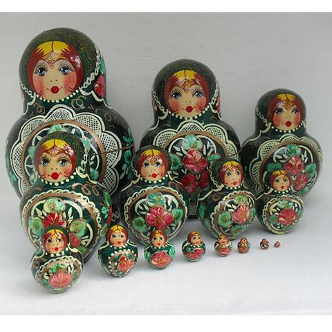 Mat022 - Matryoshka Dolls